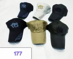 Embroidery Cotton Baseball Caps and Hats, Code 177