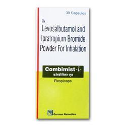 Levosalbutamol and Ipratropium Bromide Powder for Inhalation
