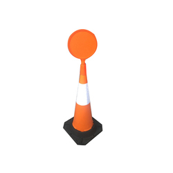 Message Plate For Traffic Cone