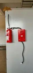CO2基于SMILD钢电气板灭火器,用于商业,4.5公斤