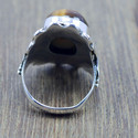 925 Sterling Silver Jewelry Tiger Eye Gemstone New Ring Wr-5231