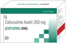 Cefuroxime Axetil 250mg Tab
