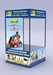 LIC Promotional Display Tent