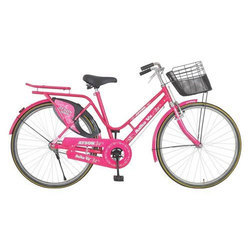 Atson Pink Ladies Bicycle, Anika Vx