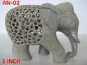 Soapstone Elephant Home Decorative