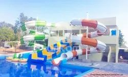 Close Float Water Slide