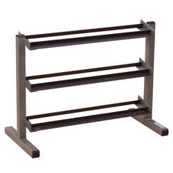 40 & Wide 3 Tier Dumbbell Rack