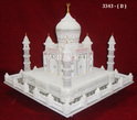 Decorative Marble Taj Mahal With Lighting
