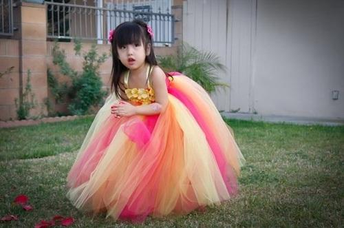 b87e97ff0 Yellow & Pink Soft Net Birthday Tutu Dress For Baby Girls, Rs 3125 ...