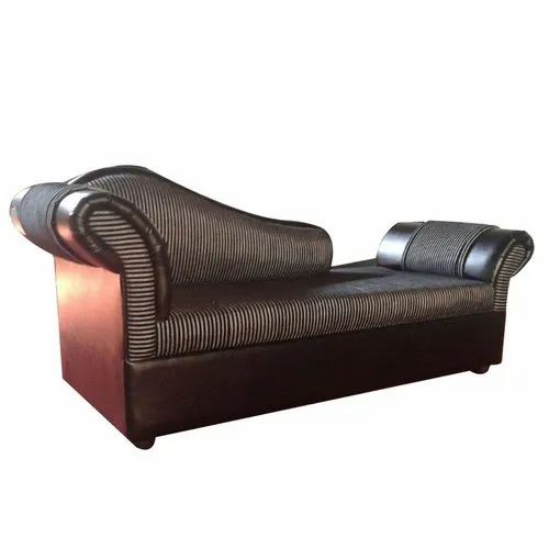 Brown Wooden Lounge Sofa