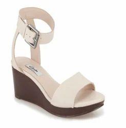 68bc6619a Clarks Women Ornate Jewel Cream Leather Sandal