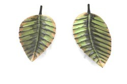 Leaf Shaped Platter For Kitchen And Home Purpose Home Decor Set Of 2