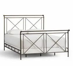 Metal Bed For Home, Hostel & Hotel, Size: 6x6