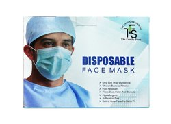 Disposable 3 Ply Face Mask (Pack Of 100 Pieces)