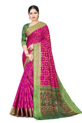 Banarasi Jacquard Wedding Party Wear Saree