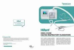 Hi Flow Oxygen Device