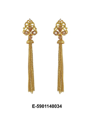 Golden Chain Earring