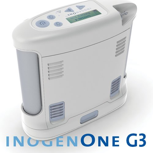 New Inogen One G3 Portable Oxygen Concentrator with 8 hours Battery