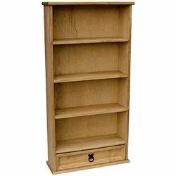 Dark Beige Jap Enterprises Wooden Bookcase
