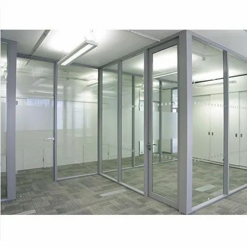 Allwin White UPVC Office Partitions