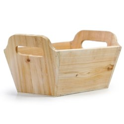 Fruit Wooden Basket