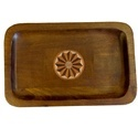Wooden Tray With Inlay