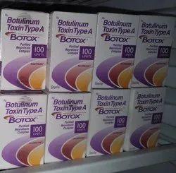 Botox 100iu (botulinum toxin )