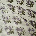 100% Cotton Floral Block Print Fabric