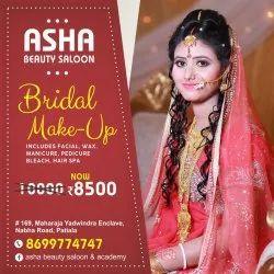 Female MAC Bridal Makeup