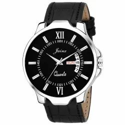 Black Day And Date Function Men  Wrist Watch JM305