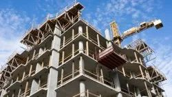Commercial and industrial Building construction, in North India