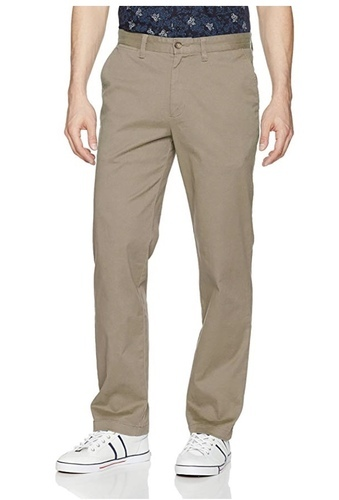 d6418c8e7 Men s Classic Fit Flat Front Stretch Solid Chino Deck Pant at Rs 950 ...