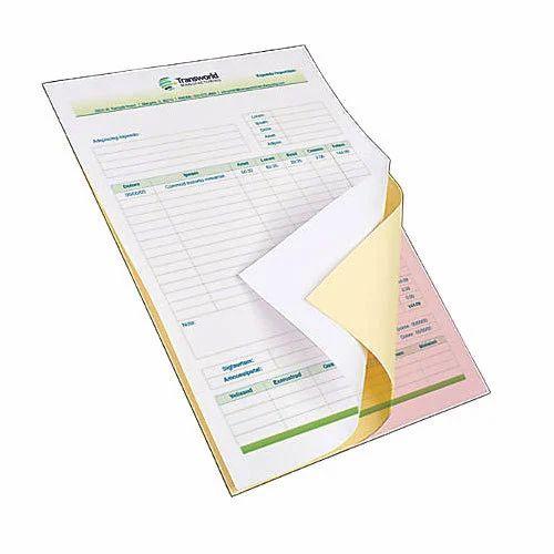 carbonless paper form carbon rahit kagaz carbonless copy paper