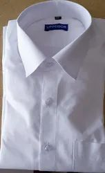 Plain White Shirts, Size: 36 To 44