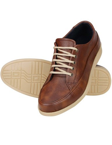 Synthetic Leather Mens Brown Casual Shoe 96e7c9682
