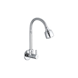 Sink Mixer Flexible Spout With Dual Flow