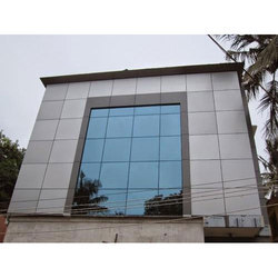 Front Elevation Glass, Shape: Square