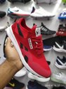 Red & Black Men Reebok Dmx Suede Shoes