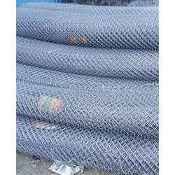 Silver Hot Dipped Galvanized Chain Link Fencing, Packaging Type: Roll