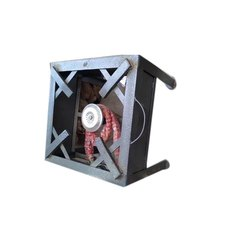 Single Burner Iron Gas Stove, For Household, Size: 1.5 X 1.5 X 1 Feets