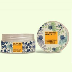 wildflowernatural coconut milk &vanilla Herbal Cosmetic Products, Type Of Packaging: Box, Cream