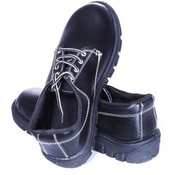 Panther Black Safety Shoes