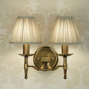 Antique Shade Wall Light