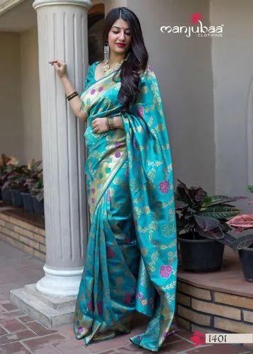 Manjubaa Midhusha Silk Saree