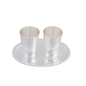 Silver Plated Water Glass Set