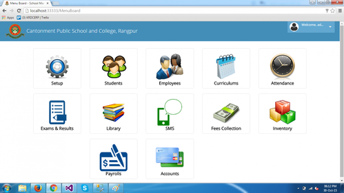 School Management ERP in Rohini, New Delhi   ID: 11429216288