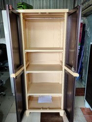 Nilkamal FB6 Plastic Storage Cupboard with Hanging Rod