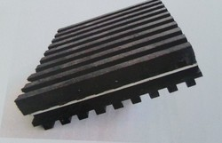 Railway Groove Rubber Pad