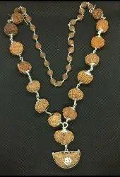 1 To 14 Mukhi Nepali Rudraksh Silver Mala