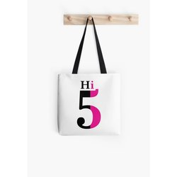 Non Woven Handled Hi5 Printed Carry Bag, For Shopping